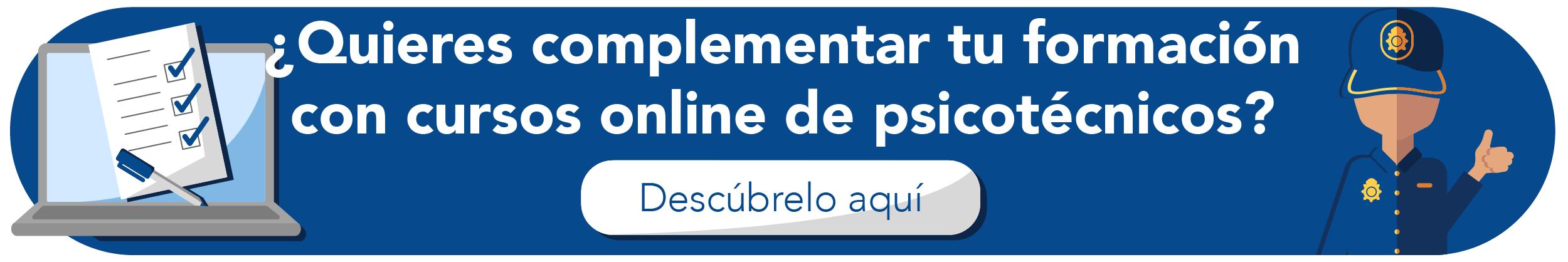 Cursos Online psicotécnicos Policía Nacional