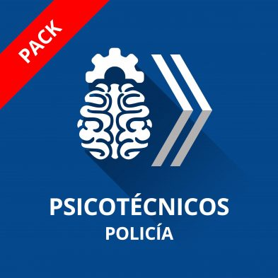 icono curso psicotécnicos policía nacional 2017 escala básica pack