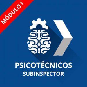 Curso psicotécnicos Policía Nacional Subinspector Módulo I