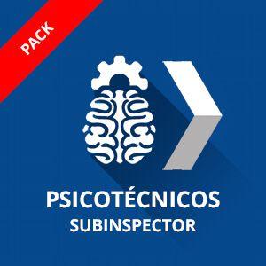 Psicotécnicos Policía Nacional Subinspector Pack