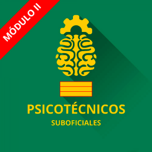 Psicotécnicos Suboficial Guardia Civil módulo II