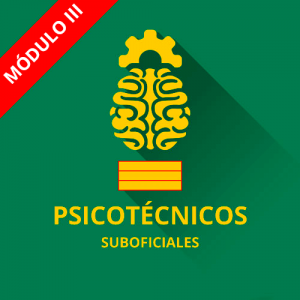 Psicotécnicos Suboficial Guardia Civil módulo III
