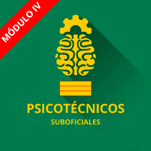 Psicotécnicos Suboficial Guardia Civil módulo IV