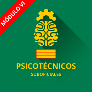 Psicotécnicos Suboficial Guardia Civil módulo VI
