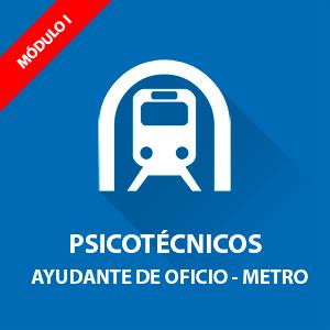 Psicotécnicos oposición Ayudante de Oficio Metro de Madrid