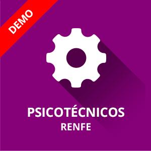 Demo psicotécnicos Mantenimiento Renfe