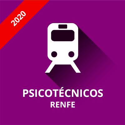 Psicotécnicos Maquinista Entrada Renfe 2020