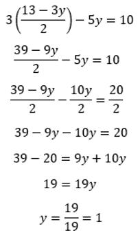 Resolver sistema de ecuaciones