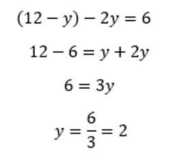 Sistemas de ecuaciones - Método de sustitución