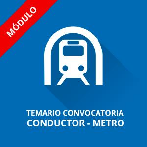 Temario Metro Madrid