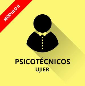 Ujieres Cortes Generales psicotécnicos
